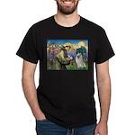 St Francis & Samoyed Dark T-Shirt
