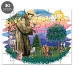St Francis #2/ Yorkie #7 Puzzle