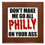 Philadelphia Baseball Framed Tile