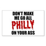 Philadelphia Baseball Sticker (Rectangle)