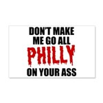 Philadelphia Baseball 20x12 Wall Decal