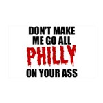 Philadelphia Baseball 35x21 Wall Decal