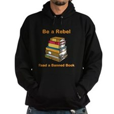 Rebel read a Banned Book Hoodie