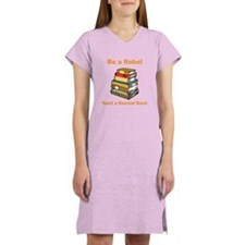 Rebel read a Banned Book Women's Nightshirt