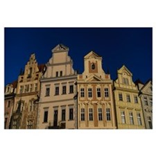 Low angle view of buildings, Prague Old Town Squar