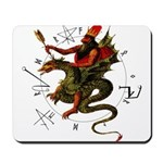 Dragon Rider Mousepad