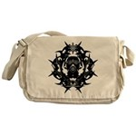 Gasmask Messenger Bag