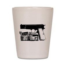 Browning Hi-Power Shot Glass