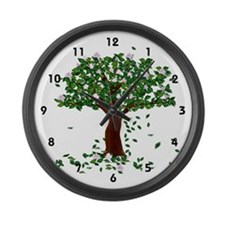 Magnolia Large Wall Clock