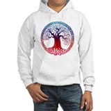Sunset Celtic Tree Jumper Hoody