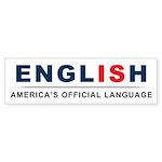 America's Official Language Sticker (Bumper 10 pk)