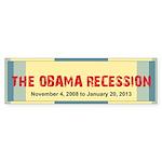 The Obama Recession Sticker (Bumper 10 pk)