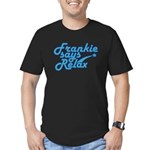 Frankie says relax Men's Fitted T-Shirt (dark)