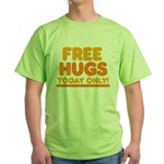 Free Hugs Green T-Shirt
