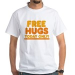 Free Hugs White T-Shirt