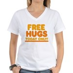 Free Hugs Women's V-Neck T-Shirt