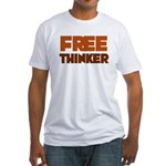 Freethinker Fitted T-Shirt