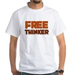 Freethinker White T-Shirt
