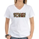 8track Women's V-Neck T-Shirt