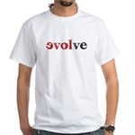 evolve White T-Shirt