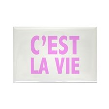 C'est La Vie Rectangle Magnet (100 pack)