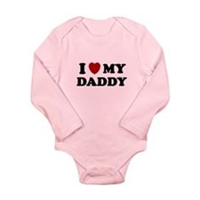 I LOVE MY DADDY SHIRT FATHERS Long Sleeve Infant B