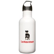 Miniature Schnauzers Water Bottle