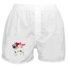 pug love Boxer Shorts