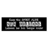 Laissez les bon temps rouler Bumper Bumper Sticker