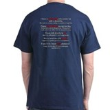 Service Dog Team Etiquette T-Shirt