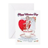 Cupid greeting cards Greeting Cards (10 Pack)
