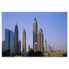 Buildings in a city, Atlanta, Georgia