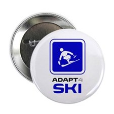 "Adaptive Alpine Skiing 2.25"" Button (10 pack)"
