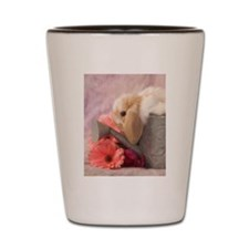 Watering Can Bunny Shot Glass