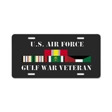 Air Force Gulf War Vet Aluminum License Plate