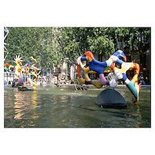 France, Paris, Pompidou, Tinguely, Niki de Saint-P