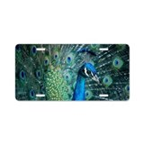 Peacock 5644 - Aluminum License Plate