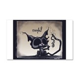Zombie Kitty Pucci~Raaah!~! Car Magnet 20 x 12