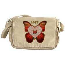 Wings of Love Messenger Bag