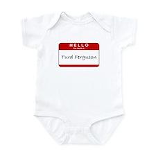Turd Ferguson Infant Creeper