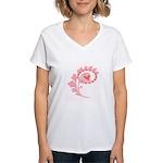 Heart Health Women's V-Neck T-Shirt