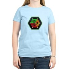 4D Hypercube Crop Circle T-Shirt