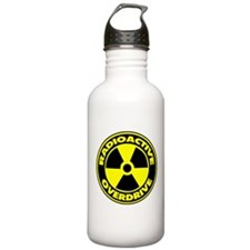 Radioactive Overdrive Logo Sports Water Bottle