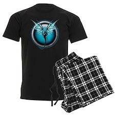 Teal Dragon pajamas