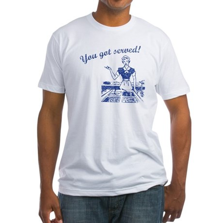 You Got Served (Retro Wash) Fitted T-Shirt