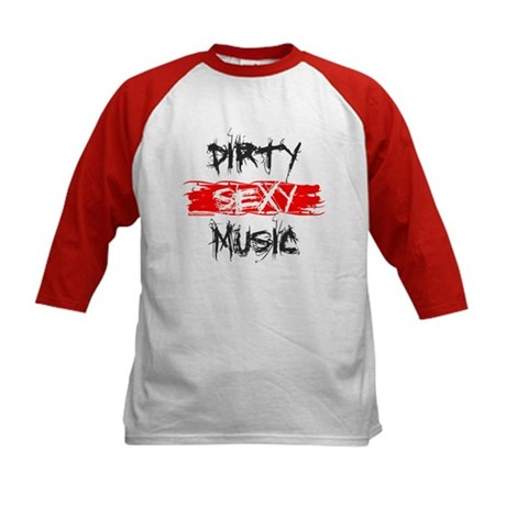 Dirty Sexy Music Kids Baseball Jersey