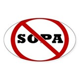 No SOPA Stickers