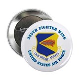 "355th Fighter Wing with Text 2.25"" Button (100 pac"