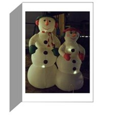 Christmas Frosty Snowman Greeting Cards (Pk of 10)
