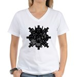 Sammos #2 Women's V-Neck T-Shirt